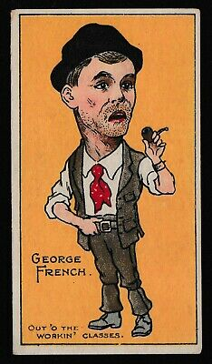 """Cohen Weenen Cigarette Cards """"Star Artistes"""" c1905 """"George French"""""""
