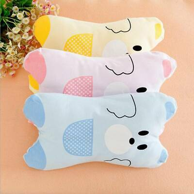 Newborn Baby Infant Cotton Pillow Positioner Prevent Flat Head Anti Roll Cushion