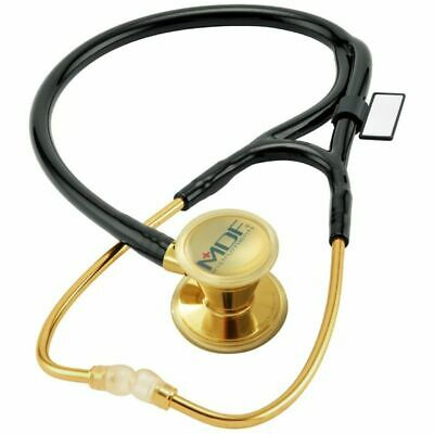 ProCardial Core™ Cardiology Gold and Black Stethoscope for Adult and Pediatric