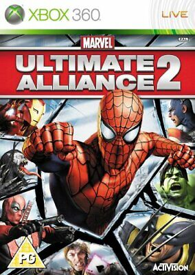 Marvel Ultimate Alliance 2 (Xbox 360) - Game  TWVG The Cheap Fast Free Post