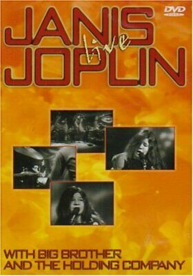 Janis Joplin - Live [DVD] - DVD  CUVG The Cheap Fast Free Post