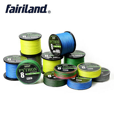 Super Durable 8X Braided Fishing Line Abrasion Resistant Zero Stretch PE Lines
