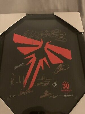 The Last Of Us Rare Signed Print Only 100 Made Only One Signed Framed 13/100
