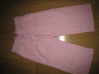 H&M Logg Pink Linen Trousers Age US 12-13 Euro 158