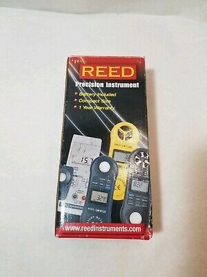 10-95/% RH -0-50/°C 32-122/°F REED Instruments LM-81HT Thermo-Hygrometer