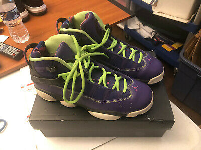 Jordan 6 Rings Gs Shoes Boys Size 7Y Youth 323419-515 With Box