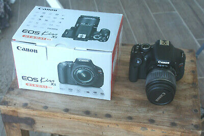 N.O.S Canon EOS Rebel 600D/Kiss X5/T3i Digital SLR Camera with EF-S 18-55mm