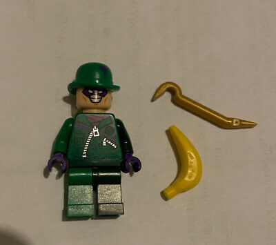 "Genuine Lego Minifigure - ""The Riddler"" - Marvel Super Heroes Sh088"