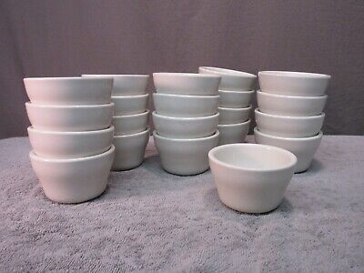 Bouillon Bowls - CAC China - restaurant/diner/cafe ice cream/soup cups lot