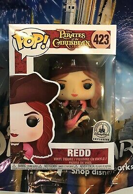 Funko Pop Disney Exclusive Redd #423 Pirates Of The Caribbean New In Hand