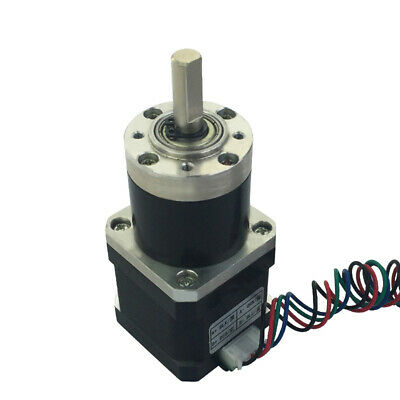 Nema 17 Planetary Gearbox 42mm Bipolar Geared Stepper Motor for 3D Printer CNC M