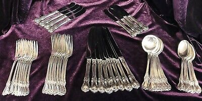 No Mono Towle OLD MASTER Sterling Silver FORMAL 8 Six Piece Plc Settings 48 pcs