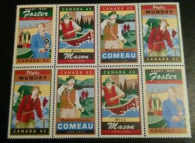 The Canada Mnh 8 Stamps .# 14.