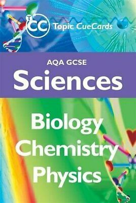 AQA GCSE Sciences: Biology, Chemistry and Physics Topic Cu... by King, Rob Cards