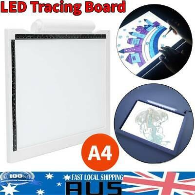 A4 LED Art Tattoo Stencil Board Light Tracing Drawing Pad Table Box Xmas Gift