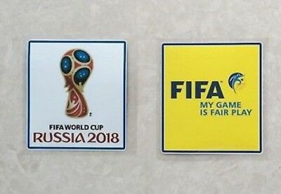 SET 2018 FIFA World Cup Football Soccer Iron On Embroidered