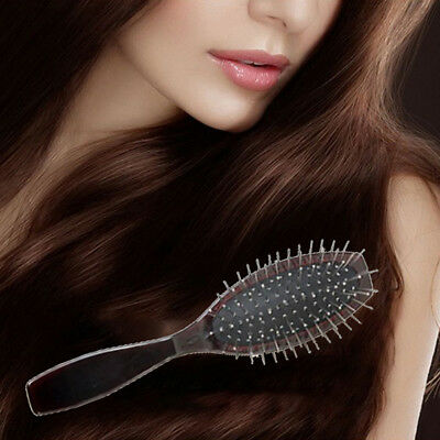 1x Anti-Static Professional Steel Comb Brush For Wig Hair Extensions Training ao