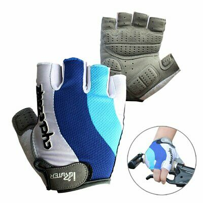 HOMPO Cycling Gloves Gel Protection Bike Half Finger Glove /& Cycling Mask