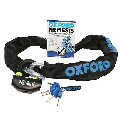 Oxford Nemesis Ultra Strong Chain And Padlock