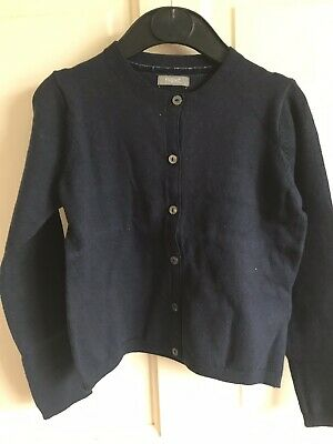 BNWOT Next Cardigan. Soft Touch. Girls. Age 5 - 8 Years. Navy