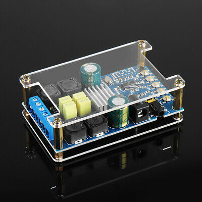 2x50W Two Channel Stereo bluetooth Power Amplifier Module Audio Receiver 12V