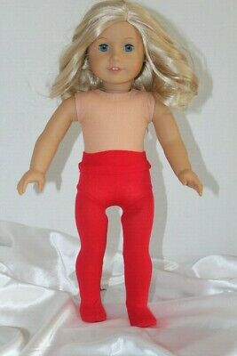 Red Tights fits 18 inch American Girl Doll Clothes Accessories