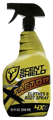 Scentblocker X-Factor Clothes and Boot Spray, Odor Control, 4X Factor, 360 De...