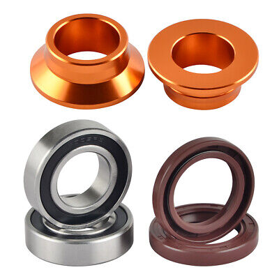 SKF Rear Wheel Bearing /& Seal Kit with Spacers For 2002-2010 Suzuki RM85