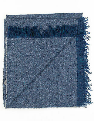 Kiton Scarf in Blue Gray from Cashmere Reg