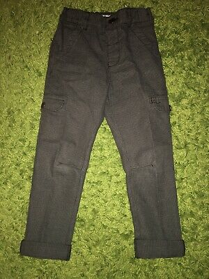 Next Trousers Cargo Smart Trousers Size 3-4 Years Old