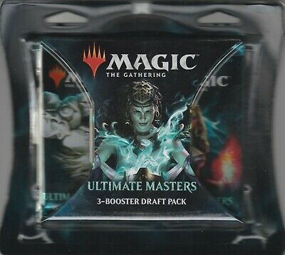 2018 MTG Magic The Gathering Ultimate Masters 3 Pack Factory Sealed Draft Pack