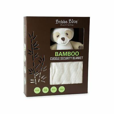 Bubba Blue Bamboo Security Blanket