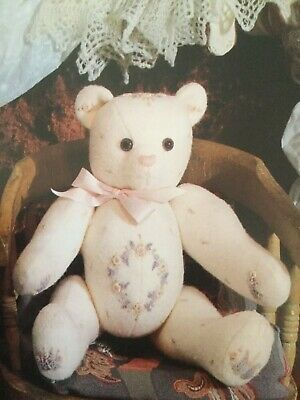 Inspirations~The Embroidered  Bear sewing pattern + mag pullout