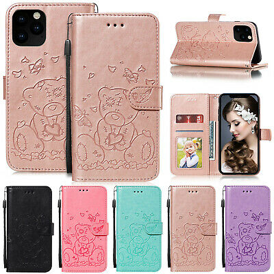 For iPhone 11 Pro XS Max XR 7 6s 8 Plus Case Leather Magnetic Wallet Flip Cover