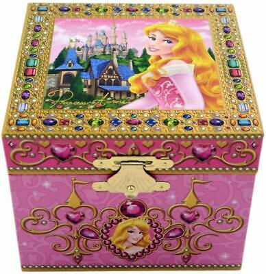 Disney Parks Sleeping Beauty Princess Aurora Wind Up Music Jewelry Box NEW