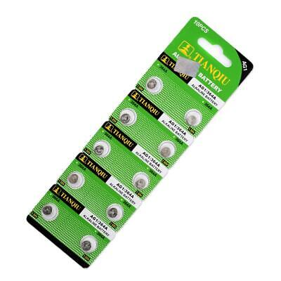 10 Pcs AG1 364 LR621 164 531 SR60 SR621SW 1.55V Alkaline Watch Coin Cell Battery