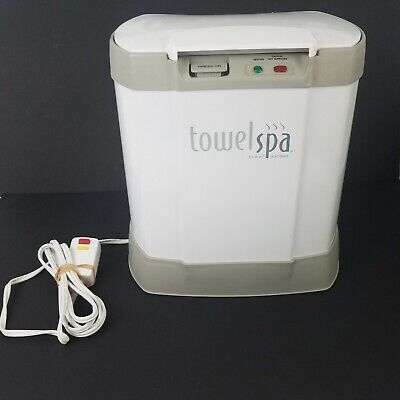Brookstone Luxury Towel Spa Warmer Model TSK-5201MA Socks Heater Tested Heats (