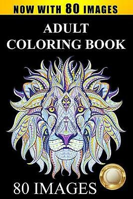 Adult Coloring Book by Adult Coloring Books Paperback Book Free Shipping!