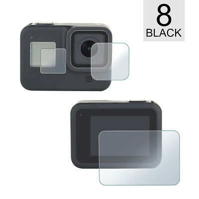 Tempered Glass LCD Screen Protector with Lens Screen Film for GoPro Hero 8 Black
