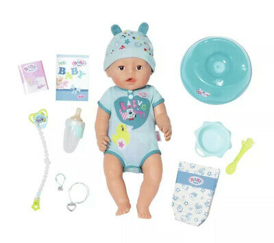 Baby Born Soft Touch Boy Doll Blue New Genuine