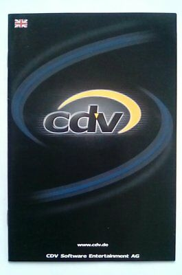 ***RARE*** CDV Promotional Flyer Booklet PC Xbox