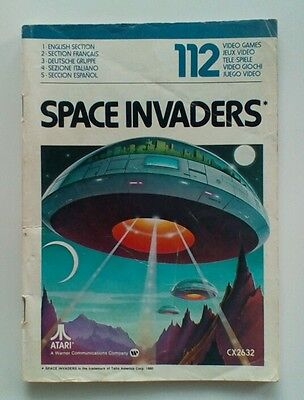 Space Invaders Instruction Manual for Atari 2600