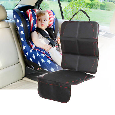 Waterproof Baby Car Seat Protector Non-Slip Child Safety Mat Cushion Cover Black
