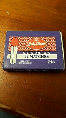 Lady Dianne Strike on Box Matches. 31/ 32