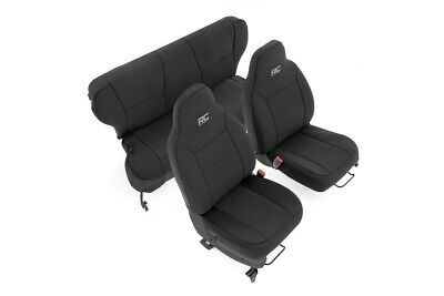 Groovy Rough Country Neoprene Seat Covers Sets Black Fits 1997 Pdpeps Interior Chair Design Pdpepsorg