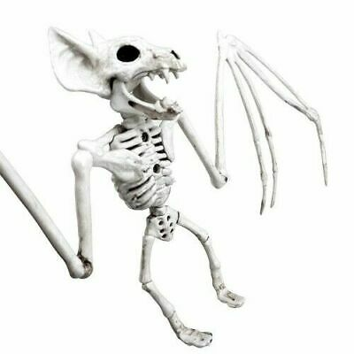 Halloween Skelett Wandbehang Fledermaus Knochen Horror Ball Party Deko Lustig