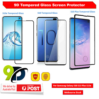 9D Full Coverage Tempered Glass Screen Protector For Samsung Galaxy S10 S10e AU