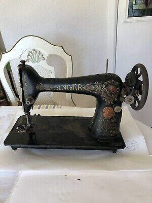 Very Nice Vintage Singer Sewing Machine Serial # G 7361811 - 1910 Year Model
