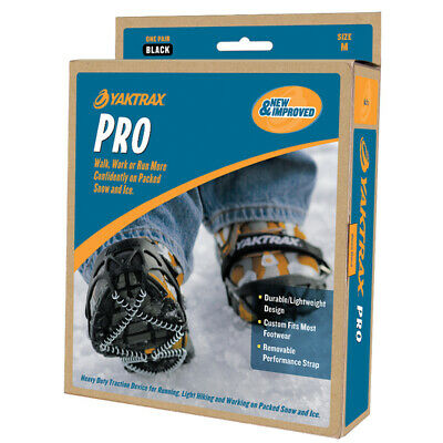 YAKTRAX PRO ** SPECIAL PRICE **  ALL SIZES ** Snow Ice Boot & Shoe Grips