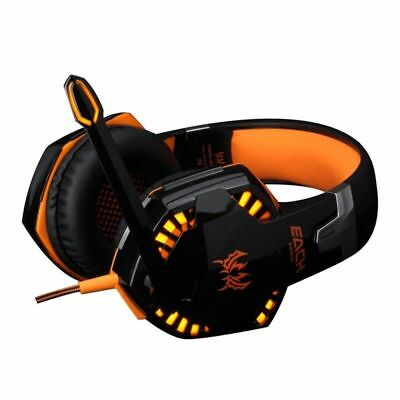 1 Pc Gaming Headsets with Mic Deep Bass Earphones for Laptop Computer Tablet SP4